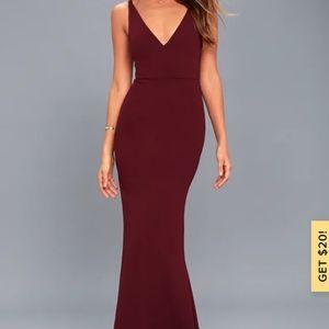 Lulus Melora Maxi Dress Gown